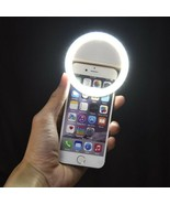 LED Selfie Light Ring Flash Fill Clip Camera For Mobile Phone Tablet iPhone - $13.85