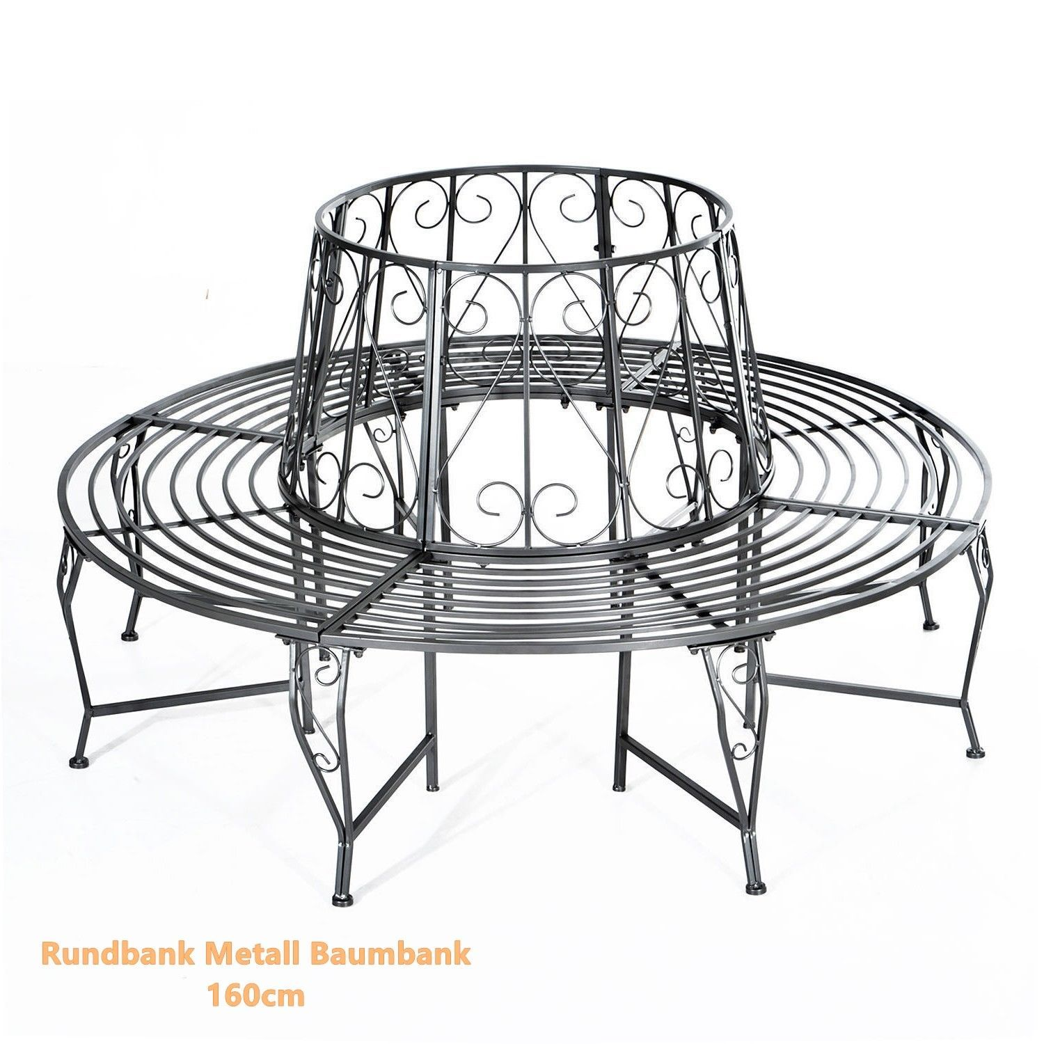 Rundbank Metall Baumbank Sitzbank Gartenbank And 50 Similar Items