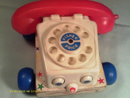 (M5) Vintage Fisher Price Toy Phone - $6.32