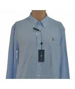 NEW! Ralph Lauren Knit Oxford Mens Sz XL Super Soft L/S Button Front MSR... - $64.99