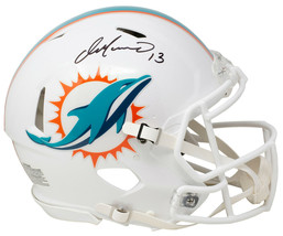 An item in the Sports Mem, Cards & Fan Shop category: Dan Marino Signed Miami Dolphins Full Size Speed Authentic Helmet JSA