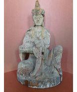 Large Mid - Century Chinese  Kwan - Yin  goddes... - $495.00
