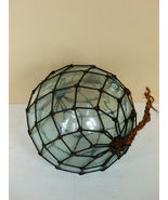 Vintage Japanese Glass Fishing Ball Float with ... - $75.00