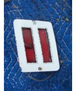 1973 EL CAMINO RIGHT REAR SIDE CLEARANCE MARKER LIGHT OEM USED ORIGINAL ... - $64.35
