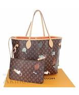 Louis Vuitton Neverfull Bag Catogram MM Tote Monogram Grace Coddington M... - $3,940.20
