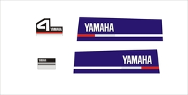 YAMAHA 4  - Outboard decal set, reproduction - $27.00