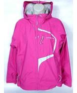 Henri Lloyd Women's Marine Sailing Jacket Size Small Hooded Pink Gray - $54.45