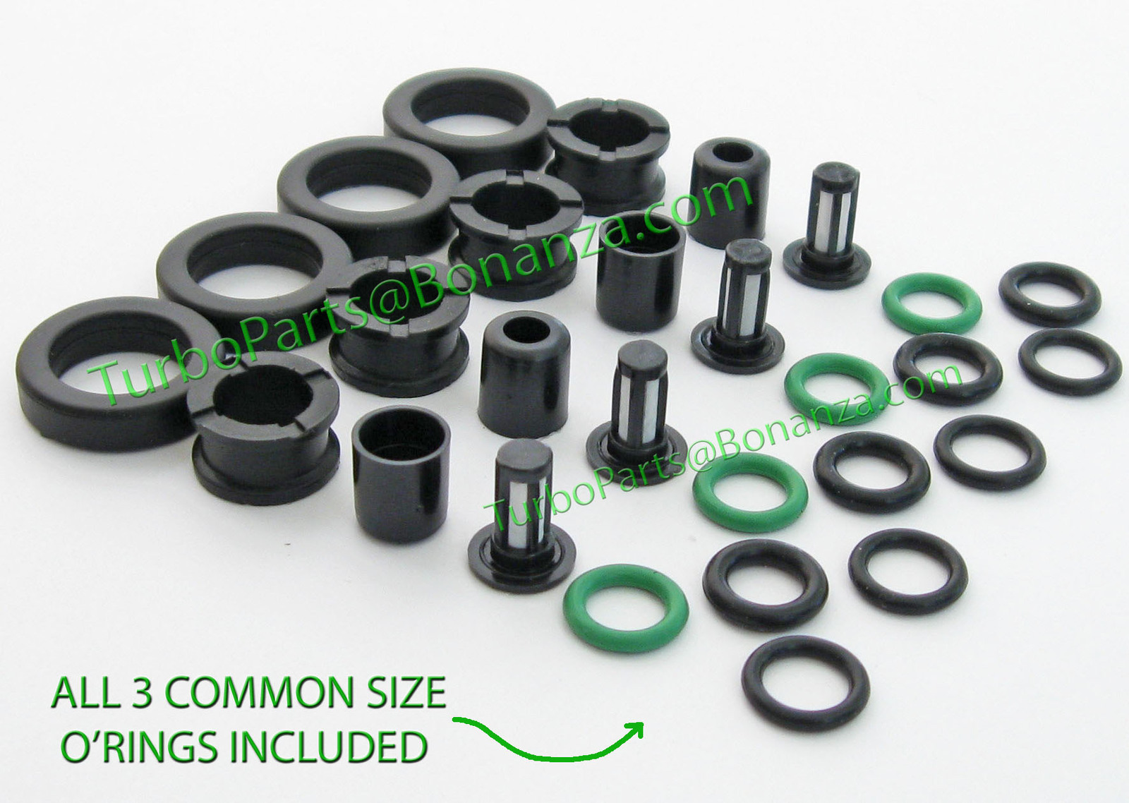 Honda fuel injector o rings grommets seals bb