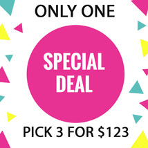 ONLY ONE!! IS IT FOR YOU? DISCOUNTS TO $123  SPECIAL OOAK DEAL BEST OFFERS - $246.00