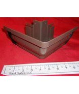 Rainmaster System 3 Vinyl Gutter Outside Corner Brown 7R2105 - $18.29