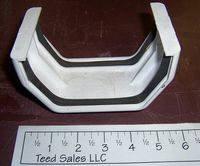 Raingo Vinyl Gutter Slip Joint Connector and 31 similar items