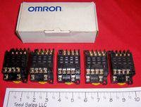 Omron 14 Pin Relay Sockets 2XC09 5 pc