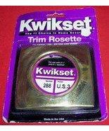 Kwikset Trim Rosette. #288 Bright Brass - $9.17