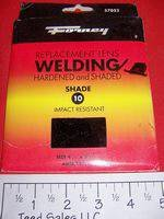 FORNEY Welding Helmet Lens No. 10 fixed shade Full Size