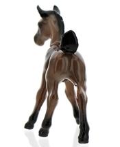 Hagen-Renaker Miniature Ceramic Horse Figurine Wild Mustang Colt Bay image 5