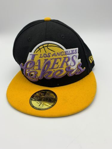 Hardwood Los Angeles Lakers NBA New Era 59FIFTY fitted//hat//basketball cap