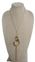 Women's Necklace Charter Club Women's Gold Plated Chain - $5.72