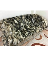 New Iceberg Fox Fur Blanket  Available in Throw Twin Queen or King Size - $227.70+