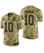"NIKE NEW YORK GIANTS NFL ""MANNING"" CAMO SALUTE TO SERVICE SIZE XL NEW W/... - $79.55"