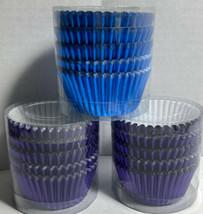 Purple & Blue Foil  Cupcake/Muffin Holders - $3.55