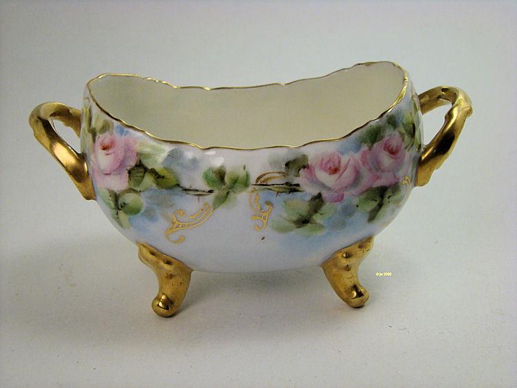Antique Limoges T & V Sugar Bowl