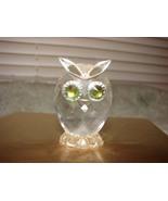 Swarovski Silver Crystal Mini Owl - $50.00