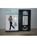 Leslie Sansone Lot of 2 USED VHS Videos Walk Away the Pounds / Walk Your... - $7.99