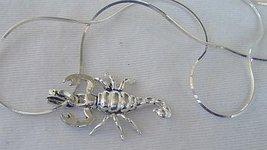 Scorpion C pendant - $30.00