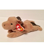 Ty Beanie Babies Plush Beanbag Derby the Horse Brown with Yarn Mane - $7.78