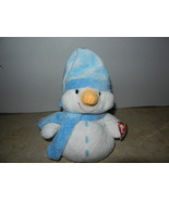 Ty Beanie Babies Pluffies Windchill the Snowman Baby Toy Used  - $12.99