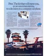 1979 Beechcraft Super King Air airplane kit print ad - $10.00