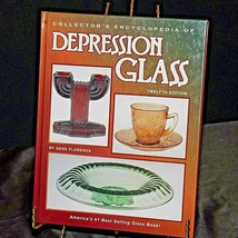 Collector's Encyclopedia of Depression Glass by Florence AA20-2359 Vintage