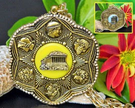 Vintage Athens Parthenon Acropolis Greek Greece Souvenir Necklace - $23.95