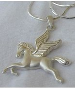 Pegasus pendant with a chain - $28.00