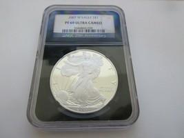 2007 W Eagle S$1  PF 69 Ultra Cameo NGC 25th Anniversary   - $99.00
