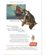 1962 Continental Insurance America Fore Group print ad - $10.00