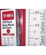 Toro Irrigation Series 570 Nozzle full circle 5 ft radius - $4.22