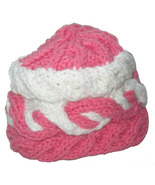 Pink Baby Winter Hat: Hand Knit - $21.50