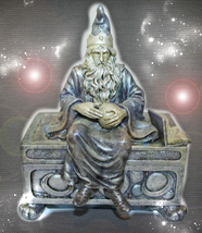 HAUNTED WIZARD OF BURDENS BOX END ALL STRAINS AND WORRIES BOX OOAK MAGICK - $299.77