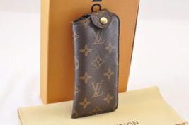 Louis Vuitton Monogram Etui A Lunettes Pm Glasses Case M66545 Lv Auth 7131 - $270.00