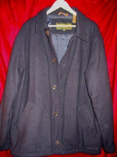Timberland WeatherGear Wool Pea Coat Jacket L DryCleaned