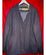Timberland WeatherGear Wool Pea Coat Jacket L DryCleaned - $37.85