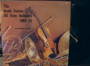South Dakota All State Orchestra 1969-70 - Century Records 36122