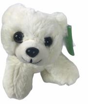 "Plush White Polar Bear Wild Republic Stuffed Animal Bear 7"" - $12.51"