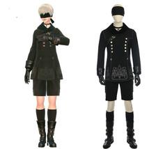 NieR: Automata 9S YoRHa No. 9 Type S Jacket Shorts Cosplay Costume+Neckl... - $118.79