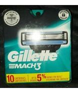 GiIlette Mach3 Razor Cartridges - 10 Cartridges - $15.79