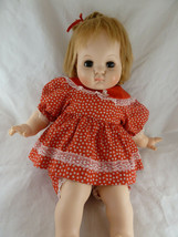 "Vintage Madame Alexander Doll 1965 Puddin sleep eyes 21"" - $38.60"