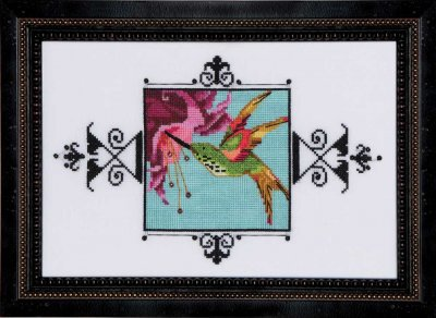 Primary image for Hummingbird Audubon Street Seres NC185 cross stitch chart Nora Corbett Designs
