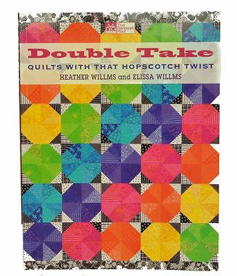 Double Take Quilts con un Rayuela Girado MCB1024