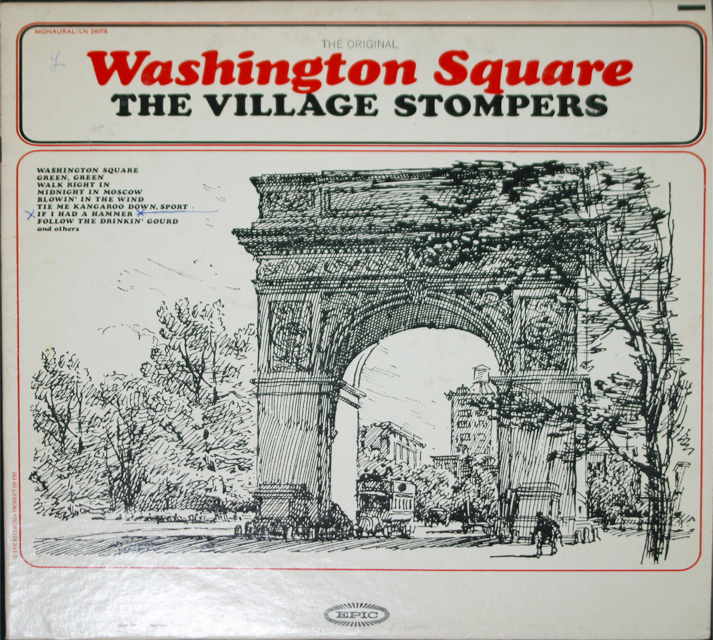 The village stompers  washington square cover